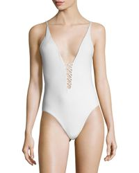 6 Shore Road By Pooja - White Sunrise One Piece Swimsuit - Lyst