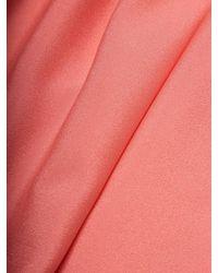 Elorie - Pink High-low Hem Midi Skirt - Lyst