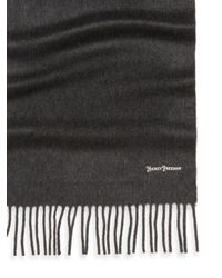 Hickey Freeman - Gray Solid Cashmere Scarf - Lyst