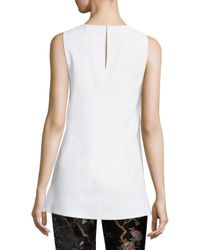 Alice + Olivia - White Gayle Clean Shell - Lyst