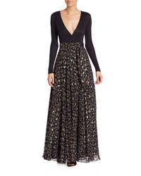 Diane von Furstenberg - Black Knee-length Dress - Lyst