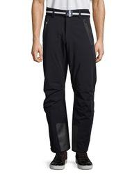 Bogner Black Tobi-t Solid Pants for men