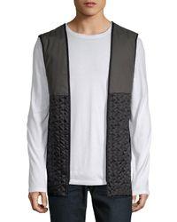 Saks Fifth Avenue - Black Classic Cotton Raincoat for Men - Lyst