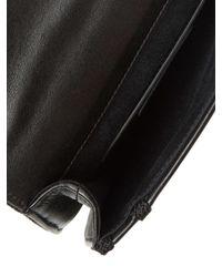 Saint Laurent - Black Opium Studded Leather Crossbody - Lyst