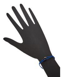 Marc Jacobs - Blue Bolt Friendship Bracelet - Lyst