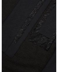 Jason Wu - Black Distressed Wool-cashmere Top - Lyst
