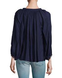 Melissa Odabash - Blue Alessandra Cover-up Shorts - Lyst
