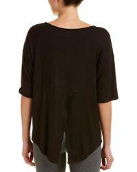 DKNY - Black Pajama Top - Lyst