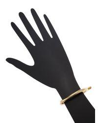 Miansai - Metallic Side Cuff Bracelet - Lyst