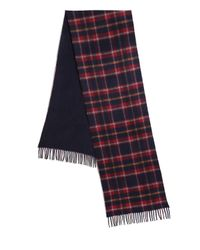 Saks Fifth Avenue - Blue Merino Wool & Cashmere Scarf for Men - Lyst
