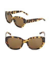 3.1 Phillip Lim | Brown Cat's Eye Sunglasses | Lyst
