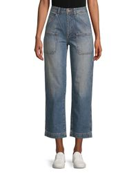 AG Jeans - Blue Cody Workwear Straight Cotton Jeans - Lyst