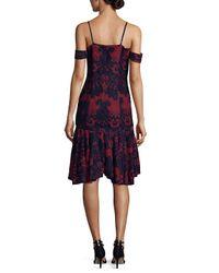 Alexia Admor - Multicolor Lace Dress - Lyst