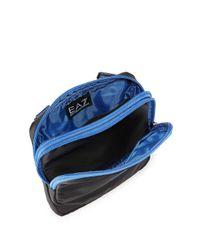 Armani - Black Signature Mini Shoulder Bag for Men - Lyst