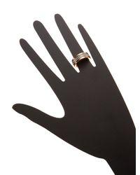Vita Fede - Metallic Audra Two-toned Crystal Ring - Lyst