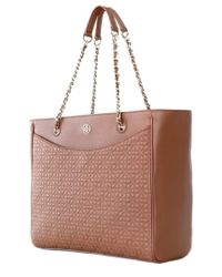 Tory Burch - Brown Bryant Leather East/west Tote - Lyst
