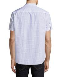 Theory - White Coppolo Durhem Sportshirt for Men - Lyst