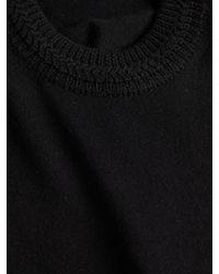 Isabel Marant - Black Pull Clap Ruff Knit Sweater - Lyst