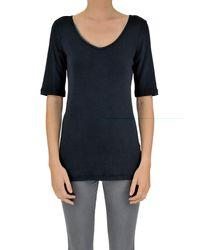 Fabiana Filippi - Blue Cotton T-shirt - Lyst