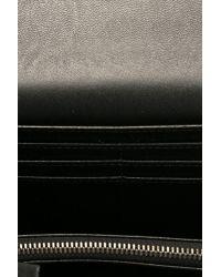 Stella McCartney - Black 'continental Flap Falabella' Wallet - Lyst