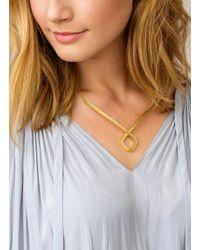 Gorjana & Griffin - Metallic Paloma Diamond Collar Necklace - Lyst