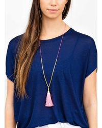 Gorjana & Griffin - Metallic Tulum Adjustable Necklace - Lyst