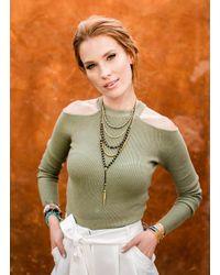 Gorjana & Griffin - Metallic Power Gemstone Turquoise Beaded Necklace For Healing - Lyst