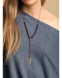 Gorjana & Griffin - Metallic Power Gemstone Garnet Beaded Necklace For Energy - Lyst