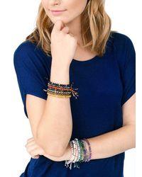 Gorjana & Griffin - Multicolor Power Gemstone Labradorite Beaded Bracelet For Balance - Lyst