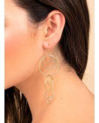 Gorjana & Griffin - Metallic Wilshire Drop Earrings - Lyst