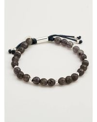 Gorjana & Griffin - Metallic Power Gemstone Iolite Beaded Bracelet For Focus - Lyst
