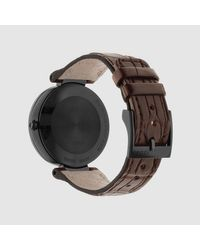 Gucci - Brown Interlocking, 37mm - Lyst