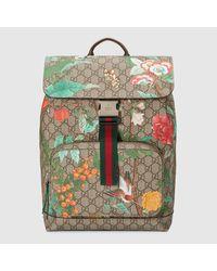 235700f8c20e Gucci. Women's Tian Gg Supreme Backpack