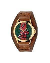 Gucci - Multicolor Le Marché Des Merveilles Watch, 38mm - Lyst