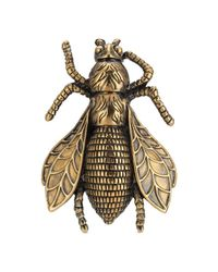 Gucci - Metallic Bee Ring With Enamel - Lyst