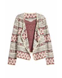 H&M | Multicolor Jacquard-knit Jacket | Lyst