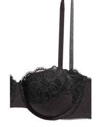 H&M - Black Balconette Bra - Lyst