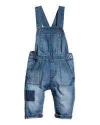 H&M   Blue Sweatpants   Lyst