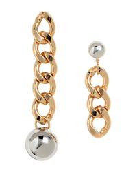 H&M | Metallic Large Earrings | Lyst