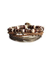 H&M | Brown 4-pack Bracelets | Lyst