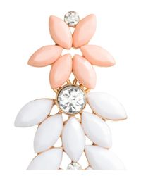 H&M - White Earrings - Lyst