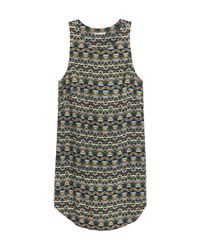 H&M | Multicolor Sleeveless Dress | Lyst