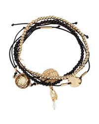H&M   Metallic 5-pack Bracelets   Lyst