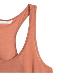 H&M - Orange Vest Top - Lyst