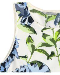 H&M - Multicolor Sleeveless Chiffon Blouse - Lyst