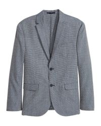 H&M | Gray Jacket Slim Fit for Men | Lyst