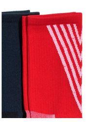 H&M - Red 3-pack Sports Socks for Men - Lyst