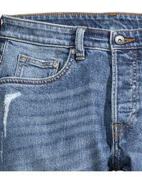 H&M | Blue Super Skinny Jeans for Men | Lyst