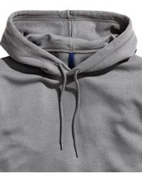 H&M - Gray Hooded Top for Men - Lyst