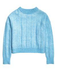 H&M | Blue Wool-blend Jumper | Lyst